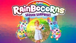 VLOG Игрушка плюш сюрприз RainBocoRns ZURU | Единорог В Яйце от ZURU