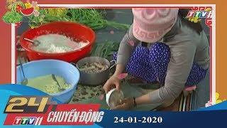 #24hchuyendong #tayninhtv #thoisuhomnay 24h Chuyển động 24-01-2020 | Tin tức hôm nay | TayNinhTV