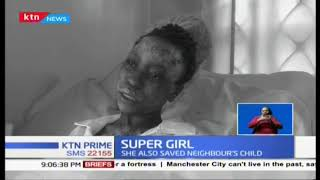 How Embu teenager risked her life to save disabled mum from burning house