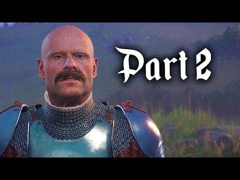 Kingdom Come Deliverance Gameplay Walkthrough Part 2 - QUEST RUN & LOCKPICKING (Full Game)
