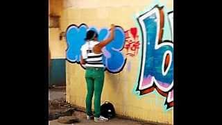 graffiti femenil Celaya