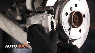 How to replace Gasket set brake caliper BMW 5 (E39) Tutorial