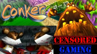 Conker's Bad Fur Day/Live & Reloaded Censorship - Censored Gaming Ft. Games Nosh