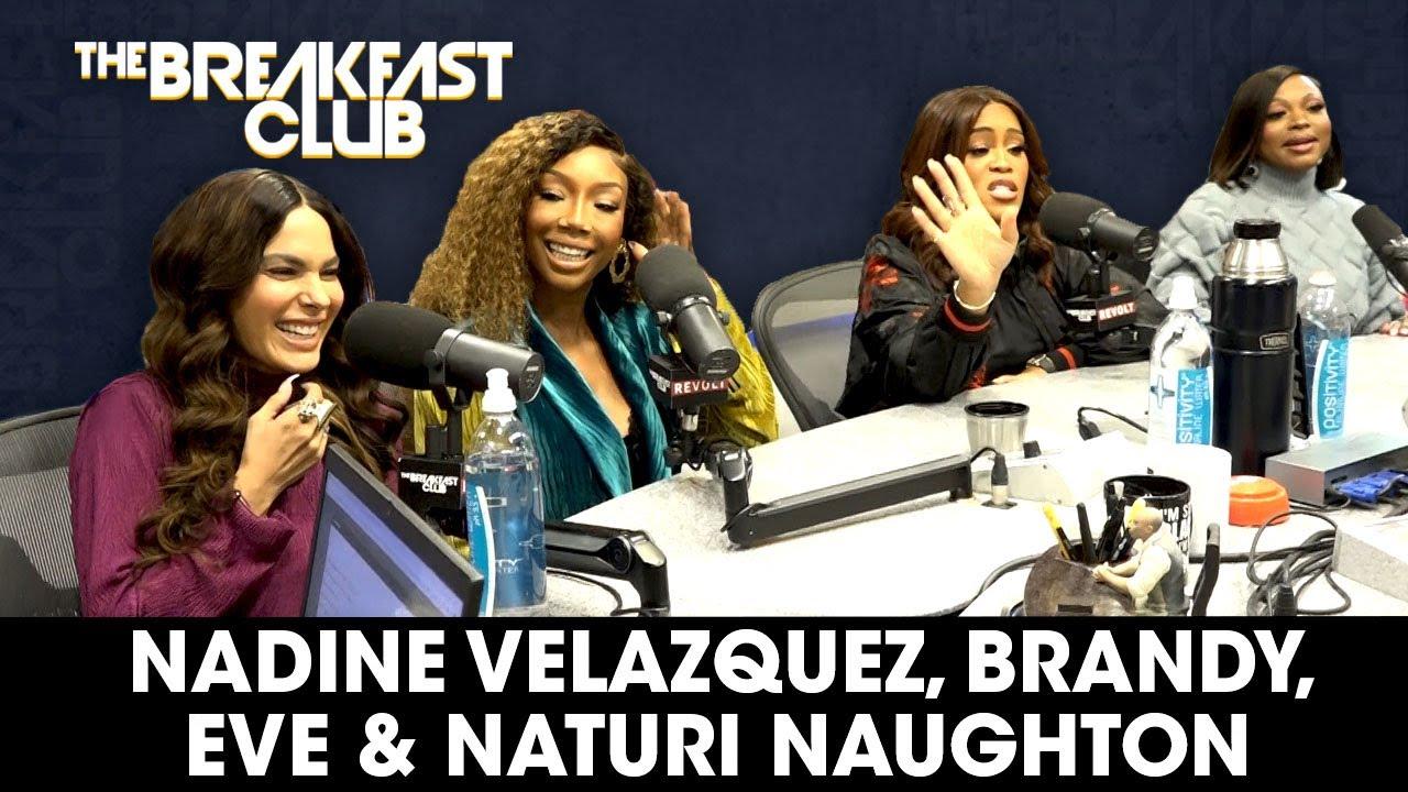 Download Eve, Naturi Naughton, Nadine Velazquez & Brandy On 'Queens', Sisterhood, Returning To Music + More
