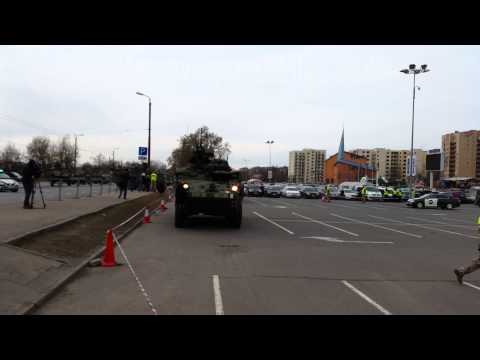 US forces in Riga, Latvia (2015.03.22)