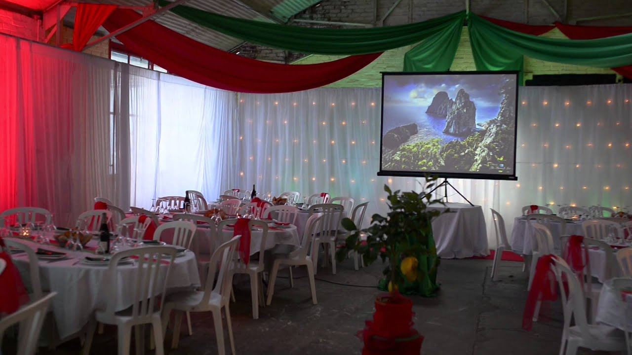 Decoration Italienne Table : Bienvenue à capri décoration sur le thème de l italie