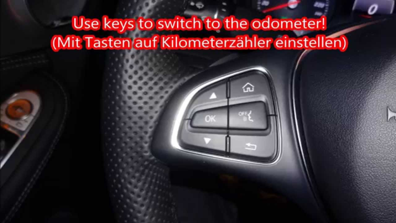 Mercedes W205 Geheimmen 252 214 Ltemperatur Hidden Menu Secret