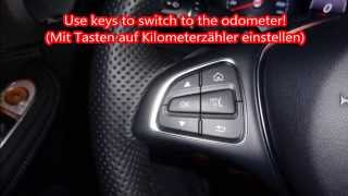 Mercedes W205 Geheimmenü Öltemperatur / Hidden menu secret oil temperature