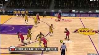 NBA 2K11 PSP gameplay