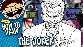 How to Draw THE JOKER (Comic Version) | Narrated Easy Step-by-Step Tutorial