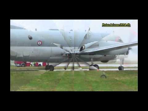 France   Navy Dassault ATL 2 Atlantique 2 5 departing Lossie  LMO  EGQS