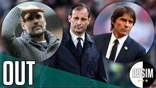 Allegri non è più l'allenatore della Juventus. Guardiola o Conte? ||| Avsim Zoom