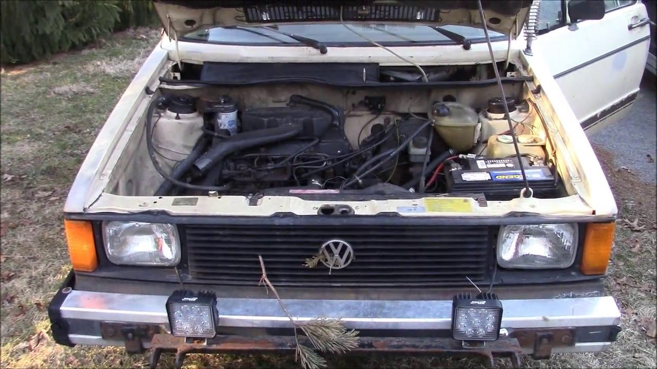 i bought a thing mint condition vw rabbit diesel youtube. Black Bedroom Furniture Sets. Home Design Ideas