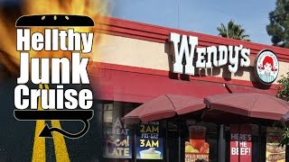 Wendy's Spicy Chicken Review - Hellthy Junk Cruise - Episode 3