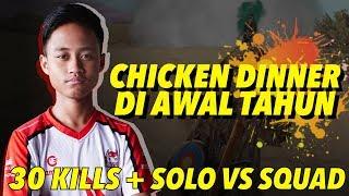 ZUXXY SOLO VS SQUAD 30 KILLS IN MIRAMAR ! - PUBGM Indonesia