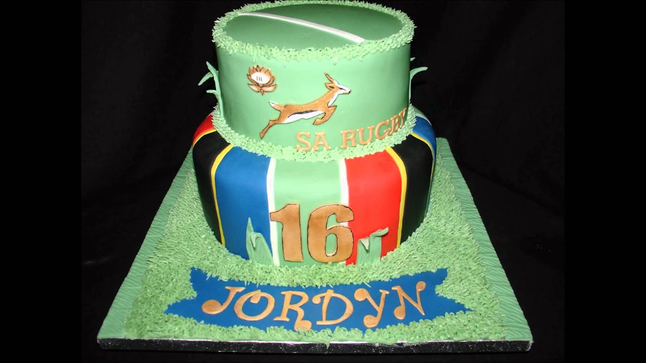 How To Make A Rugby Birthday Cake