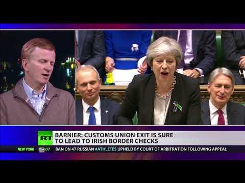 Barnier: Customs union exit sure to lead to Irish border checks