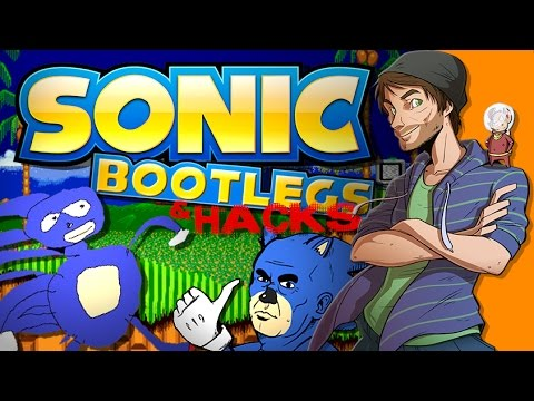 Sonic Bootleg Games and HACKS! - SpaceHamster