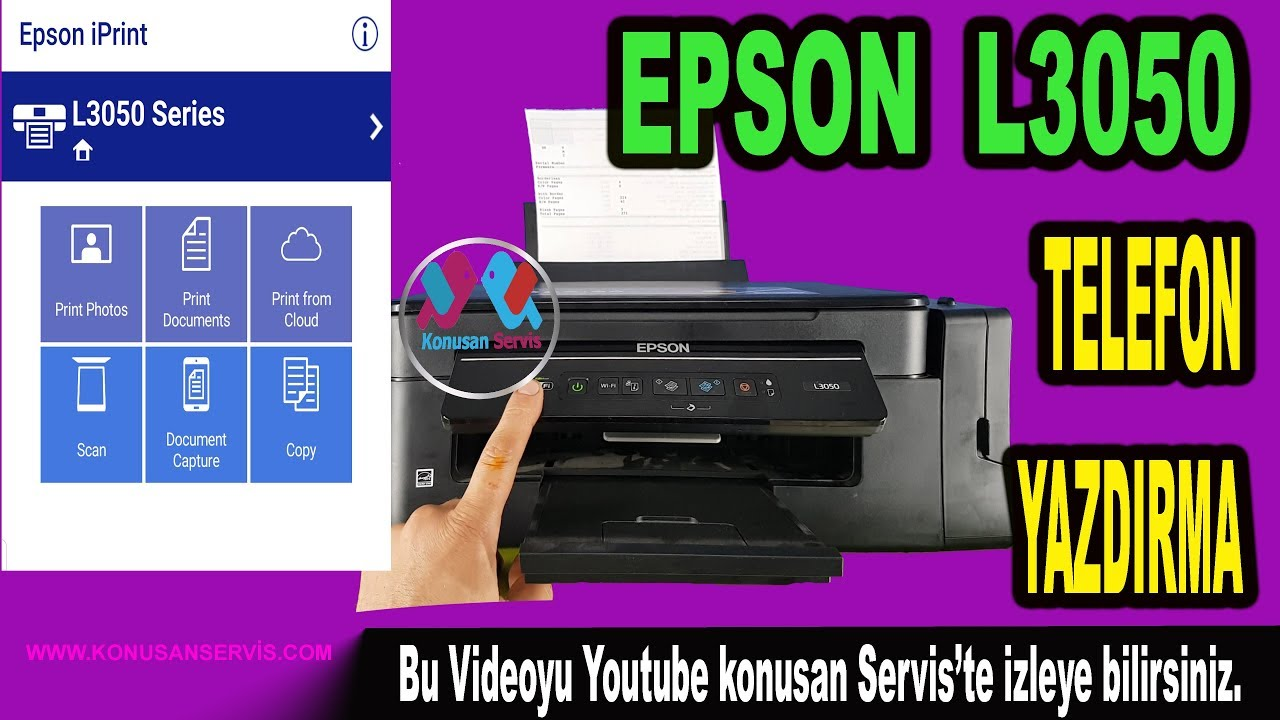 Epson L3050 Installation