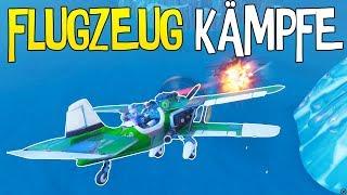FLUGZEUGE IN FORTNITE xD | Flugzeug Kämpfe und mehr