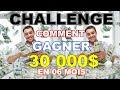 CHALLENGE  GAGNER 30 000$ EN 06 MOIS  SAIRUI NEW RETAIL