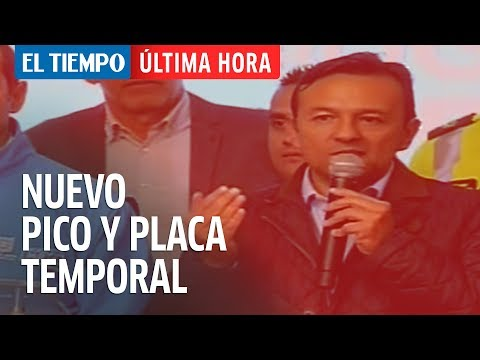Pico y placa temporal por contaminación en Bogotá | EL TIEMPO