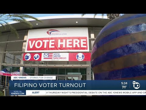 San Diego effort to get Filipino voters to turn out