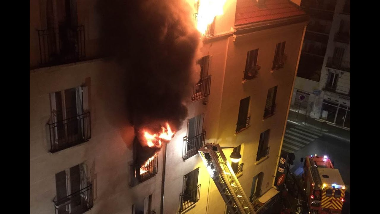 Discover How the Paris, France Apartment Fire was Purposefully Orchestrated by Sapeurs-pompiers