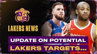 Major Update On Potential Lakers Trade And Buyout Targets
