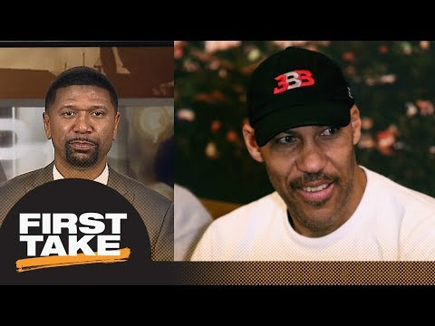 Jalen Rose on LaVar Ball: He is just talking to be heard with Lakers threats   First Take   ESPN