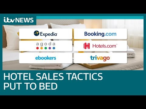 Hotel Booking Sites To End 'misleading' Sales Tactics | ITV News