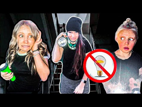 EXTREME Hide & Seek in the DARK Mansion!!