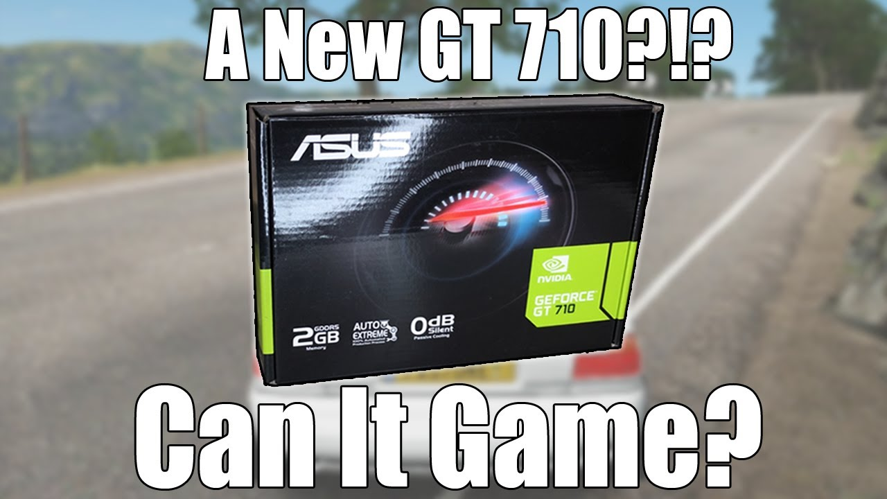 Download The NEW GT 710 - Why Has This Low-End Graphics Card Been Re-Released?