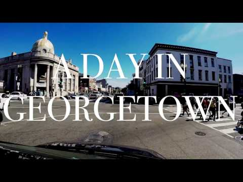 Let's Visit Georgetown in Washington DC
