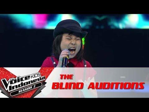 Joy 'The Climb'    The Blind Auditions   The Voice Kids Indonesia Season 2 GTV 2017