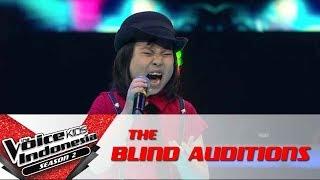 "Joy ""The Climb""  | The Blind Auditions | The Voice Kids Indonesia Season 2 GTV 2017"