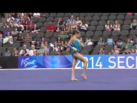 Sydney Johnson-Scharpf - Floor - 2014 Secret U.S. Classic