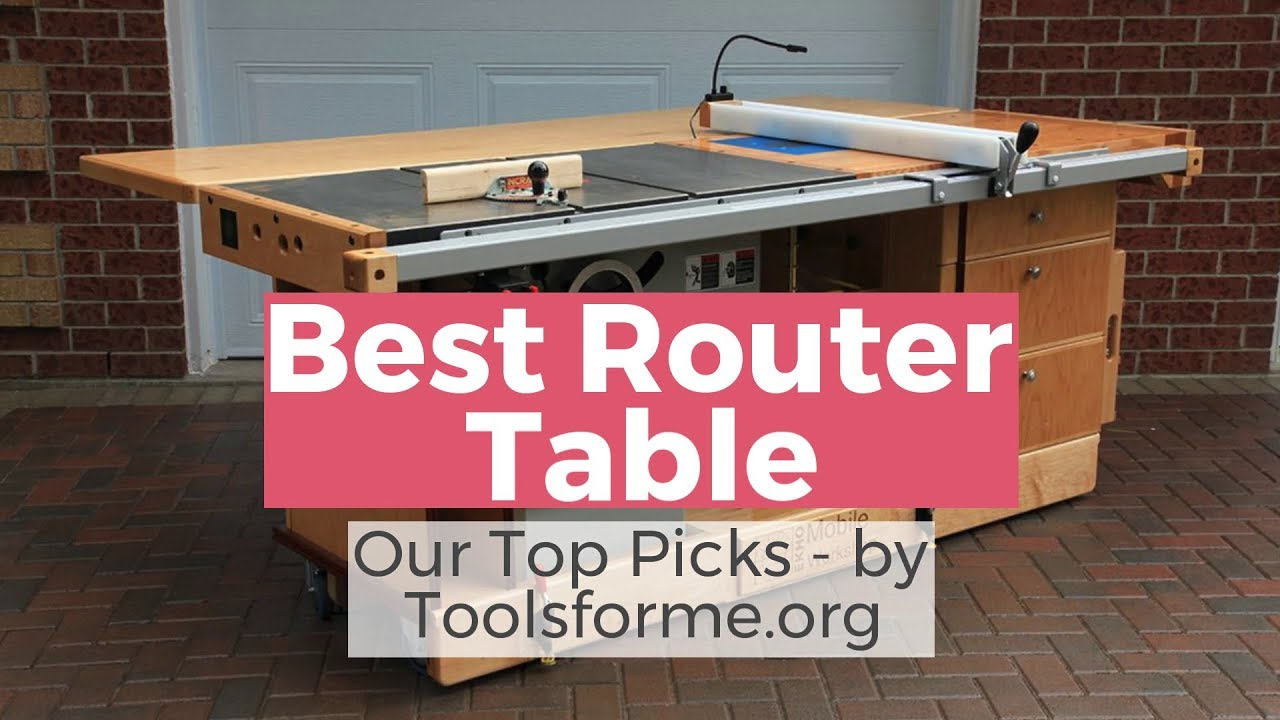 Best Router Table Top 5 Reviews