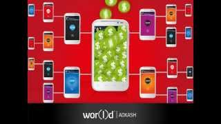 Wor(l)d AdKash - заработай на входящих звонках, смс или ммс...