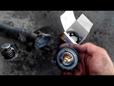 MAZDA 6 2.0 HOW TO REPLACE THERMOSTAT
