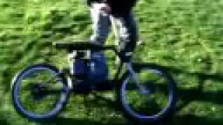 Minibike Built With Bmx Frame 2