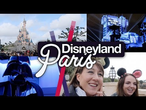 Disneyland Paris #1 with Karen Bee! Travel, Star Wars and Big Thunder! March 2018