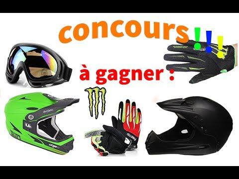 CONCOURS !!! (a gagner 2 casque/2 gants/1 masque vtt/2 stikers Monster)(La team endural)