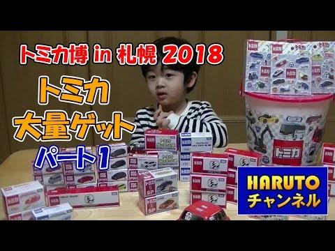 はるとチャンネル トミカ博in札幌 2018 沢山トミカゲットしました パート1 Tomica is toy car