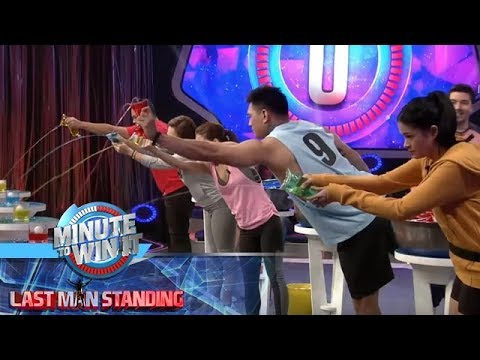 Ice, Ice Tubig | Minute To Win It - Last Man Standing