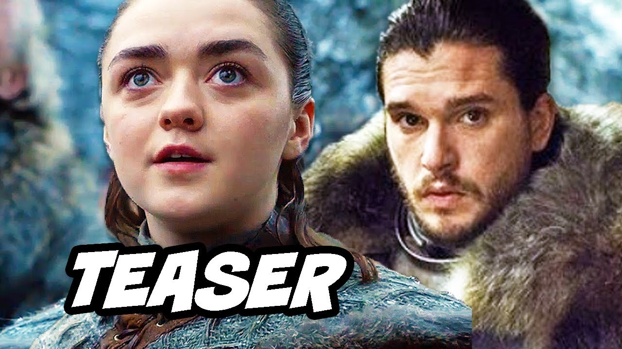 Game Of Thrones Season 8 Teaser - Episode 1 and Episode 2 Preview Breakdown
