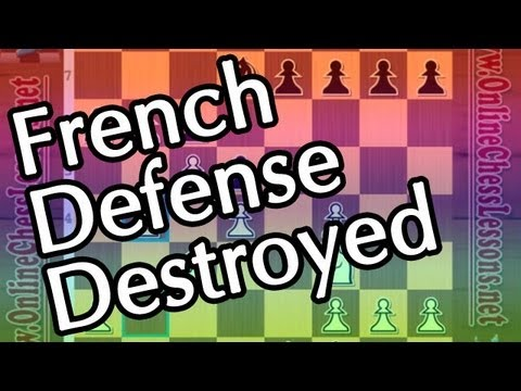 How to Play Aggressive Chess - GM Misa Pap (French Defense -