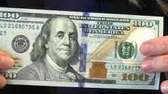 Neuer 100-Dollar-Schein: bunter und fälschungssicherer