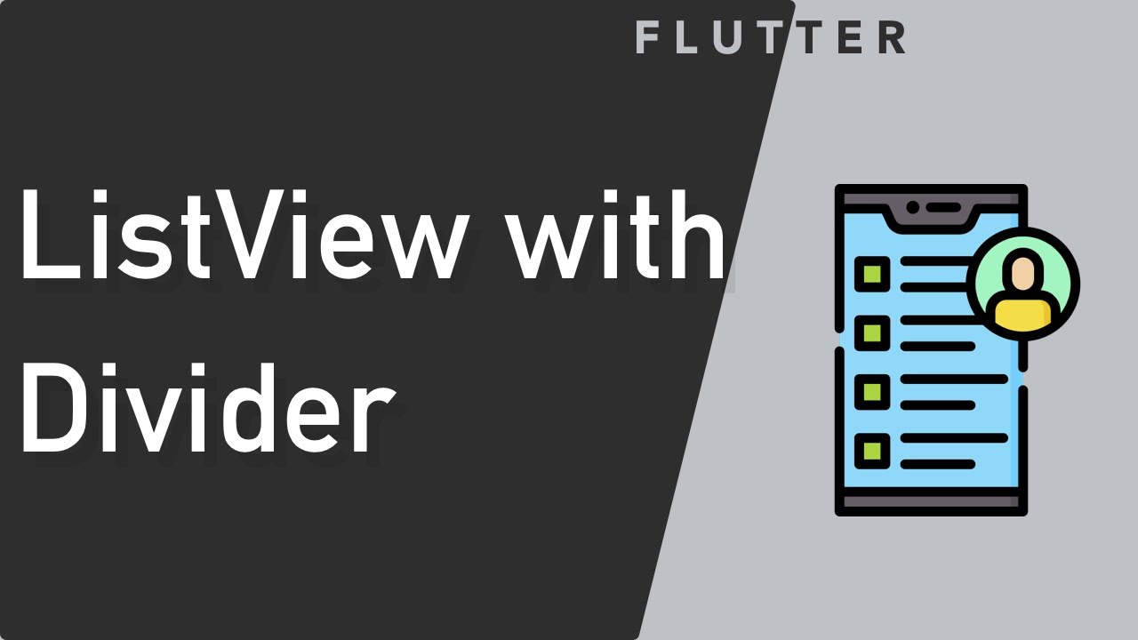 Flutter Swipe to delete - Part 1 - Simple Listview