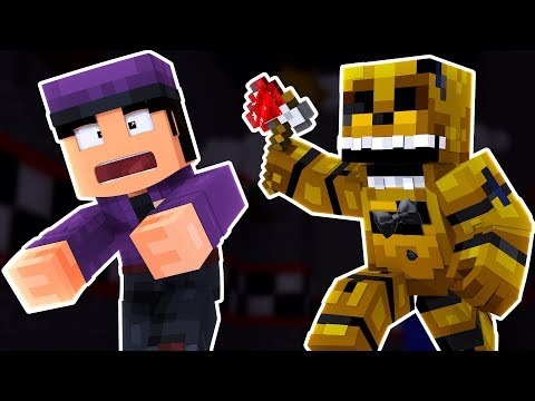 Golden Freddy ATTACKS the NEW Mike  Minecraft FNAF Roleplay